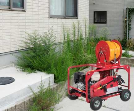 業務用の排水管高圧洗浄の威力が家庭用と断然効果が違う訳